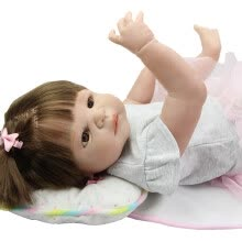 -New Arrival Reborn Baby Doll Waterproof 57 cm 23'' Realistic Babies Full Vinyl Dolls Girl or Boy Wear Gold Pants Kids Xmas Toys on JD