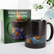 -Solar System Color Changing Cup Heat-sensitive Color Changing Mug Ceramic Mug on JD