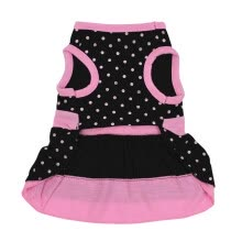 -Pet Dog Clothes Spring Summer Puppy Dogs Cotton Breathable Skirt with Bow Knot pets dresses pet Accessories 2019 new on JD