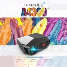 set-top-boxes-TRANSJEE 3800 Lumen 1280P Remote Control Movie Projector With 50000 Hrs LED Life on JD