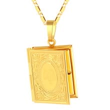 -Arabic Women Plated Diamond Muslim Islamic Allah Charm Pendant Necklace Jewelry on JD