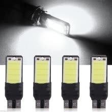 -4 x Car White 6000K DURABLE T10 W5W COB SMD LED Bulbs W5W 501 Side Light Bulbs on JD