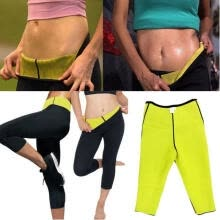 -Women´s  Super Stretch Neoprene Fitness Slimming Pants Waist Trainer Panties Body Shaper Weight Loss Fitness Sweat Shorts Wome on JD