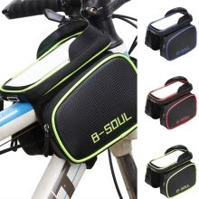 -1x Cycling Frame Pannier Front Tube Bag For Cell Phone Bicycle Bike Touch Useful on JD