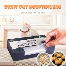 -〖Follure〗Baking decorating bag thickened disposable cake decorating bag 50 pcs on JD
