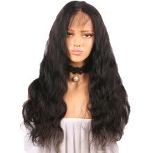 -Curly Wig Glueless Full Lace Wigs Black Women Indian Remy Human Hair Lace Front on JD