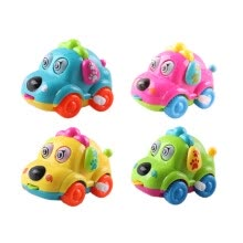 -Cute Cartoon Animal Dog Wind Up Toys Running Car Clockwork Classic Toy born Spring Toy Random Color on JD