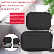 -Portable Remote Controller & Drone Protective Storage Bag for DJI Mavic Air 2 on JD
