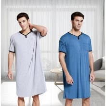 -Fashion Summer Men´s Luxury Bath Robe Towelling Dressing Gown Fathers Day Gift Idea NEW on JD