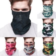 headband-Head Face Neck Gaiter Tube Bandana Scarf Anit-Dust Cycling Motorcycle Scarf HOT on JD