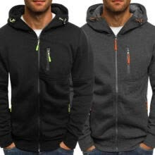 -New Men's Winter Slim Hoodie Warm Hooded Sweatshirt Coat Jacket Outwear Sweater on JD