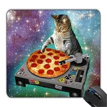 -Fashion Boutique Multicolor Space Cat Food DJ Fashion Mouse Pad on JD