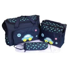 -4PCS Multifunctional Diaper Bags For Mother High Quality Maternity Mummy Nappy Bags Cartoon style Mom Handbag Baby Stroller Bag on JD