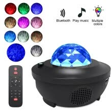 -LED Lightful Night Sky Projector Lamp Ocean Wave Star Light Room Romantic Decor on JD