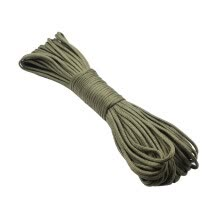 -Nylon Parachute Cord Rope Tie Down 100 Feet Seven-core Polyester Umbrella Rope on JD