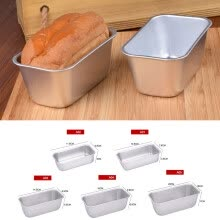 -New Bakeware Bread Toast Baking Pan Aluminum Alloy Rectangle Cake Mold Non Stick on JD