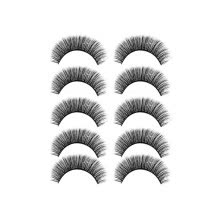 -Luxury Makeup 5Pair 3D False Lashes Fluffy Strip Eyelashes Long Natural Party on JD