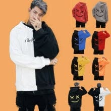 -Mens Hoodies Sweatshirt Hooded Sweater Jacket Coats Pullover Outwear Jumper Tops on JD