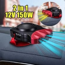 heating-air-conditioning-systems-12V Car Truck Auto Heater Hot Cool Fan Windscreen Window Demister Defroster on JD