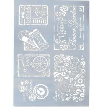 -Bluelans DIY Cake Letter Stencils Scrapbooking Stamp Album Decor Embossing Paper Template on JD