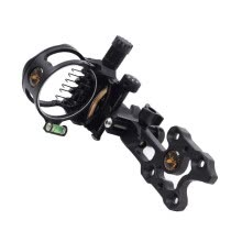 -Archery Compound Bow Sight  7 Pin .019 Micro Adjustable Hunting Target Games on JD