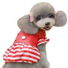 -ZZ-Winter Autumn Pet Clothes Wedding Dressing Lovely Lace Dress Puppy Cat Clothing Pets Apparel Polyester Bow Princess Embroidery on JD