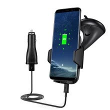 other-accessories-Qi Wireless Fast Charger Dock Car Holder Charging Mount Pad For Samsung Note 8 on JD