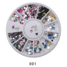 -Nail Art Rhinestones Glitters Acrylic Tips Decoration Manicure Nail Drills on JD