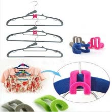 -10pcs Magic-Clothing Hanger Closet Organizer Space Saver Rack Clothes Hook on JD