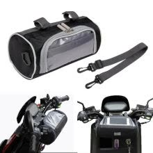 -Motorcycle Electric Car Front Handlebar Storage Bag Mobile Phone Touch Screen on JD