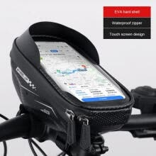 -Bicycle Frame Front Tube Bag Portable Waterproof Practical Touch Screen Phone Holder MTB Bike Handlebar Cell Mobile Phone Bag on JD