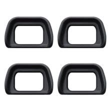 -4x Eyecup Eyepiece Viewfinder For Sony A6300 A6000 NEX-7 NEX-6 NEX-5 Black on JD