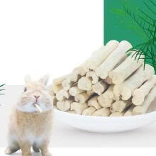 -5 Pcs/lot Small Pets Natural Sweet Bamboos Chew Toys Healthy Snacks For Rabbits Guinea Pigs Chinchilla Squirrel on JD