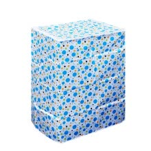 -55×58×87cm Fully Automatic Washing Machine Cover Polyester Satin Cloth Waterproof Washing Machine Case Protector (Blue Spotted) on JD