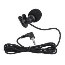 -Mini Portable Clip-on Lapel Lavalier Hands-free 3.5mm Jack Condenser Microphone Mic for  PC Laptop Loundspeaker on JD
