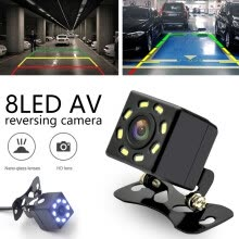 -Willstar 170° HD Car Rear View Camera Reversing Parking Cam Night Vision IP68 Waterproof 8LED- Fits All Vehicles on JD