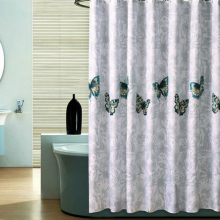 -Waterproof Polyester Fabric Shower Curtain, Bathroom Wash Cover on JD