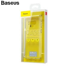 -Baseus Safety Airbags Case for Samsung Galaxy Note 9 Thin Clear Anti Knock Phone Cover for Note 9 on JD