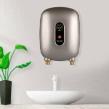 large-appliances-3000W Instant Electric Tankless Hot Water Heater Shower Kitchen Tap Faucet 110V on JD