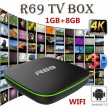 -R69 Android 7.1 Smart TV Box 1GB+8GB Quad Core WIFI H.265 4K Video Media Player on JD