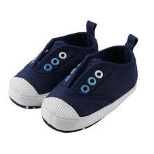 -Cute Baby Boys Girls Canvas Toddler First Walkers Sports Shoes (Navy,11cm) on JD