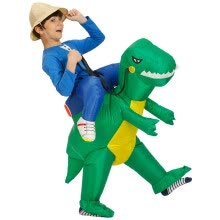 -High Quality Waterproof Polyester Toys For Children Adult Inflatable Dinosaur Fancy Costume Suit Party Toy Festival Funny Dress on JD