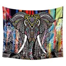 -Mandala Elephant Painting Lightweight Polyester Fabric Wall hanging Tapestry Beach Throw Blanket Hanging Home Decorations on JD