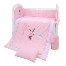 -Disney Baby Disney Baby Baby Bed Set detachable bed quilt bed sheet quilt cover core pillowcase pillow core fantasy tour pink 120*65cm on JD