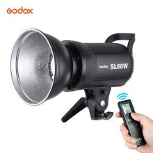 -Godox SL-60W 5600K 60W High Power LED Video Light Wireless Remote Control with Bowens Mount for Photo Studio Photography Video Rec on JD
