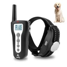 training-behavioral-aids-Electric Dog Training Collar 300M Remote Control Waterproof Rechargeable Pet Collar Bark-stop Electric Training Dog Collar EU US on JD