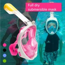 outdoor-games-Children Full Face Snorkeling Mask Set Diving Underwater Swimming Training Scuba Mergulho Snorkeling Mask For Camera on JD