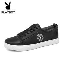 -Playboy (PLAYBOY) Korean version of the wild fashion casual shoes men's comfortable wear DS81068 black 43 on JD