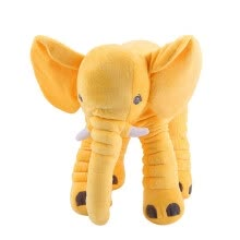 -Appease Elephant Pillow Infant Playmate Calm Doll Soft Stuffed Elephant Plush Toy Baby Sleep Toy on JD