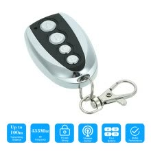 -433MHz 4 Buttons Touch Switch Copying Transmitter Cloning Duplicator Garage Opener Electric Garage Door Remote Control Key Fob on JD